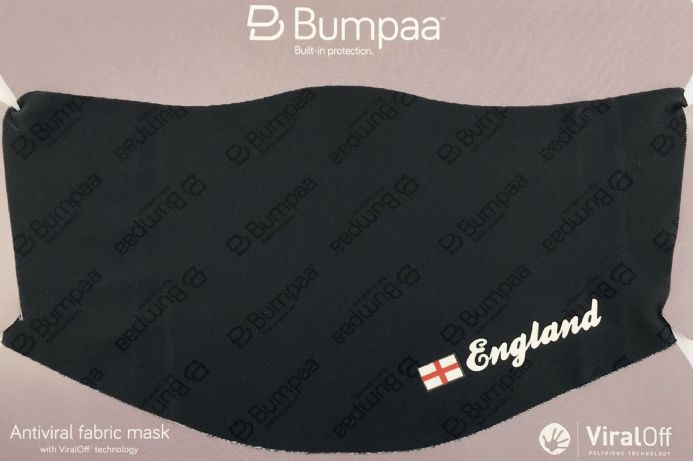 Reusable Face Mask with St George Cross England Flag